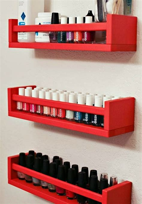 Spice Rack For Nail by 20 Ikea Storage Hacks To Diy For Your Home