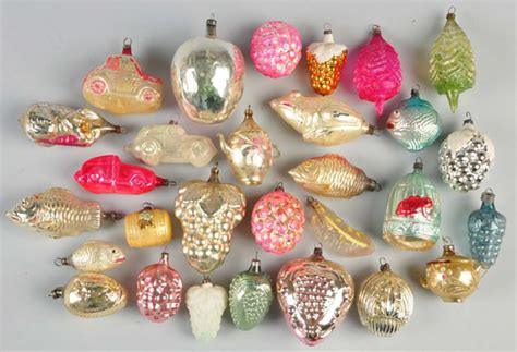 how much are old glass christmas ornaments worth