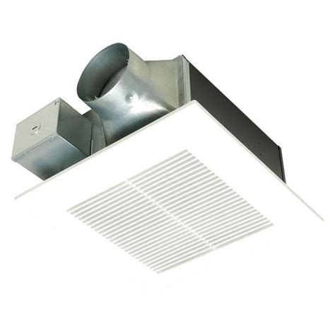 whisper fit ez low profile bathroom exhaust fan by