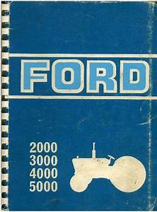 1969 Ford 2000 Tractor Manual Images