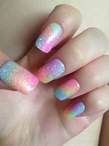 19 amazing rainbow nail designs pretty designs