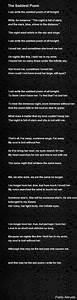 The Saddest Poem Poem by Pablo Neruda - Poem Hunter