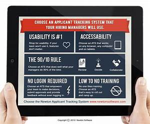 best ats for hiring managers newton software With how applicant tracking system works