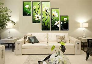 Canvas ideas in living room home and harmony for Applying the harmony to your living room paintings