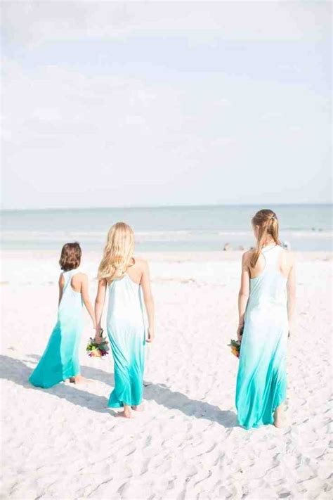 beach themed bridesmaid dresses wedding and bridal