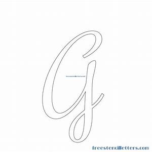 cursive stencils and numbers to print free stencil letters With cursive letter stencils free