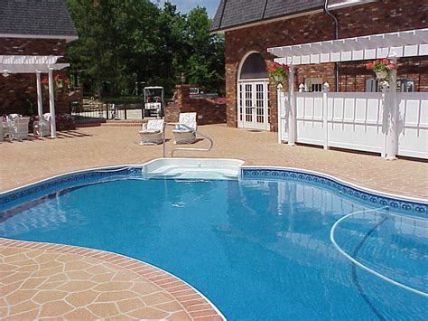 Pool Deck Resurfacing by Resurface Pool Deck Concrete Images