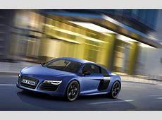 2013 Audi R8 V10 plus Sepang Blue Pearl Effect Side Angle