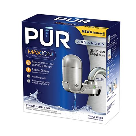 Pur Advanced Faucet Water Filter Replacement by Pur Fm 4000b Advanced Faucet Water Filter System