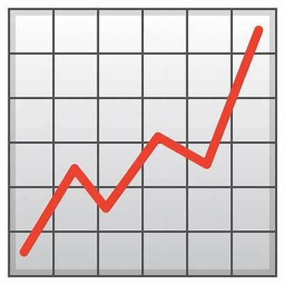 Emoji Chart Increasing Icon Google Android Emojis