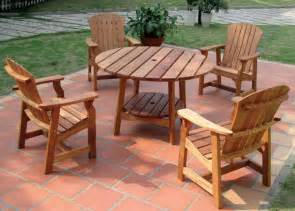 wood patio furniture plans home outdoor