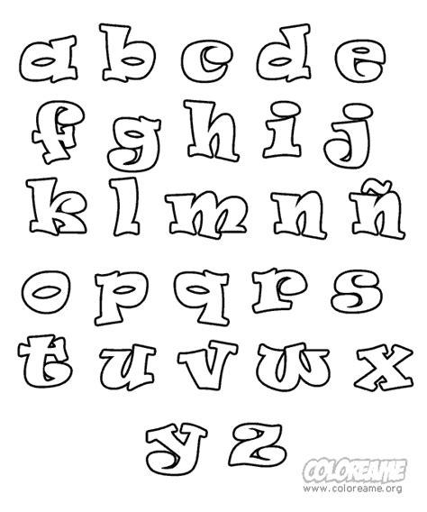 moldes de letras minusculas para hacer en foami imagui dibujos varios fonts