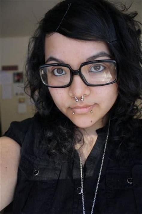 ᐅ Chubby Emo With Piercings Glasses And Tattoos
