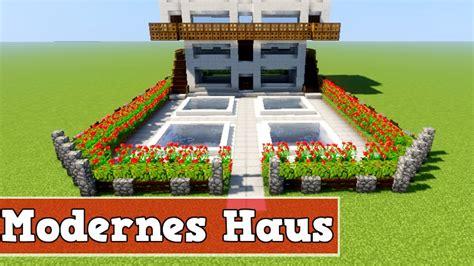 Wie Baut Man Ein Großes Modernes Haus In Minecraft