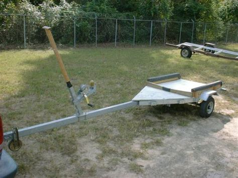 Jon Boat On Utility Trailer by Harbor Freight Bolt Together Kit Trailers