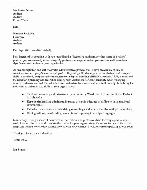 Assistant Cover Letter by 12 13 Personal Assistant Cover Letter Sles