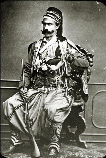 Ottoman Turc by Ottoman Soldier Circa 1880 1900 Soldier