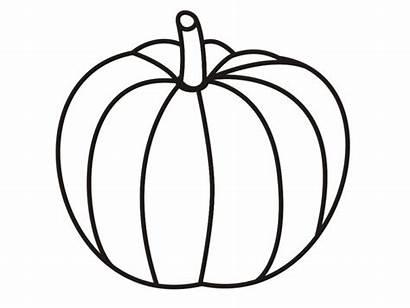 Pumpkin Printable Outline Coloring Pages Clipart Clipartion