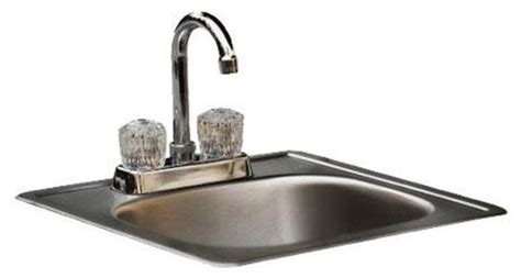 Modern Stainless Steel Bathroom Sinks by Bull Outdoor Sink With Faucet Standard Stainless Steel