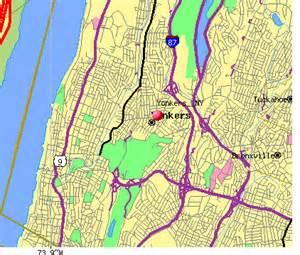 Street Map Yonkers New York
