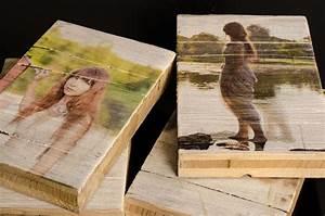 Holzdruck Im Vintage Look Druck Auf Holz
