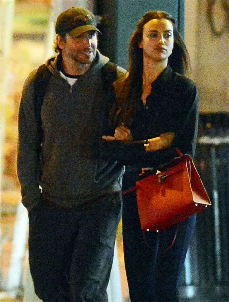 irina shayk pictured kissing gentleman bradley cooper