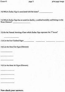 Alwaysastrology Birth Chart Exam One For Learn Astrology Alwaysastrology Com