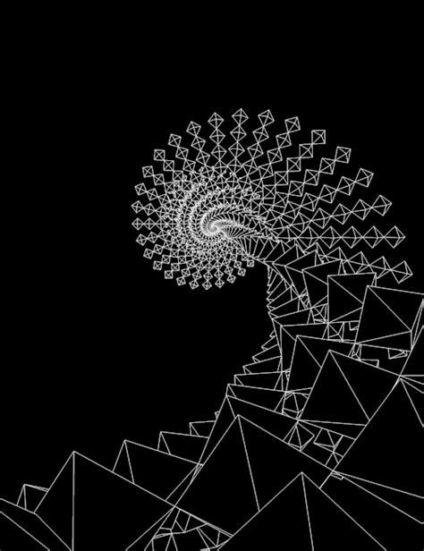 vibration sacred gifs geometry calming nature fibonacci fractal makeagif math raise mathematics bestgifs animated aesthetic spiral squares anxiety long chillax