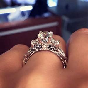 apparently this is the most pinned engagement ring on With wedding rings pinterest