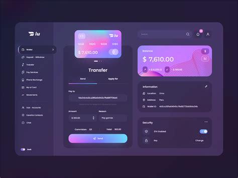 wallet iupayme desktop dark mode  manuel rovira