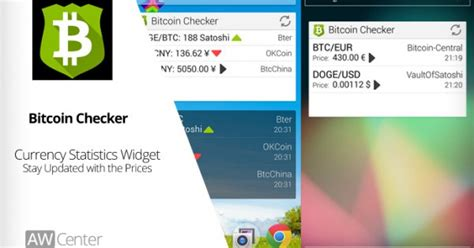 bitcoin checker android apps  keeping track  latest