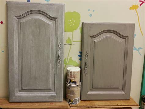 portes de meubles de cuisine ordinaire repeindre une cuisine en chene vernis 4 sur