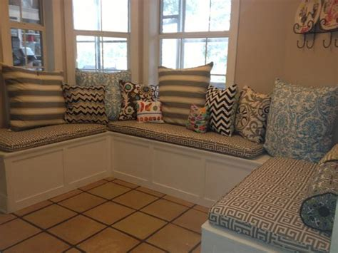 custom cushions for benches custom sewn banquette seat bench cushion with cording