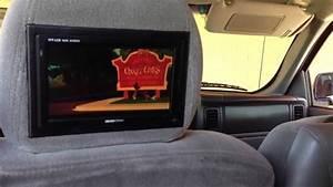 2004 Chevy Tahoe Dvd Player  U0026 Headrest Installed 480 Audio