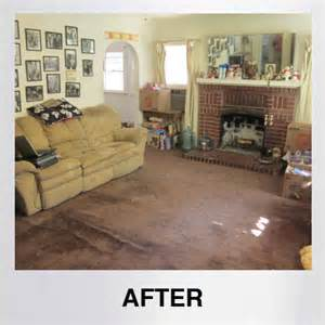 Hoarders Before and After