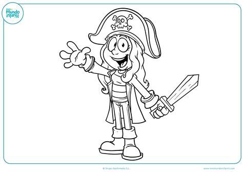 Imagenes De Barcos Piratas Para Dibujar by Dibujos De Piratas Para Colorear Mundo Primaria
