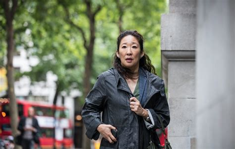 sandra oh coat killing eve women in film killing eve is a deadly obsession