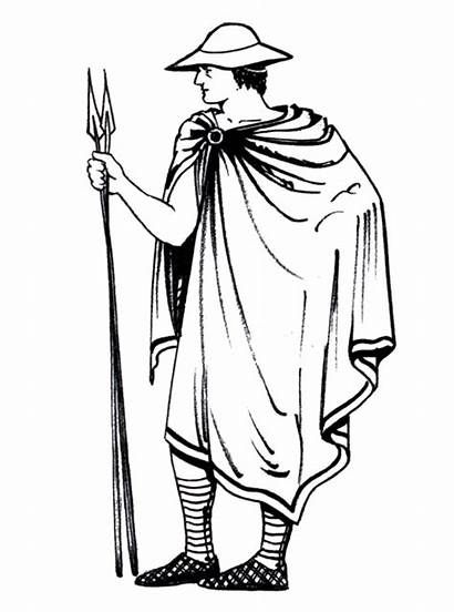 Ancient Greek Greece Clothing Chlamys Clothes Famous