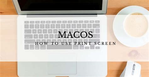 How To Print Screen On Mac How To Use The Print Screen Function On A Mac Computer