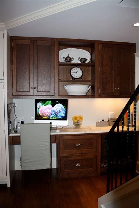functional kitchen desk designs