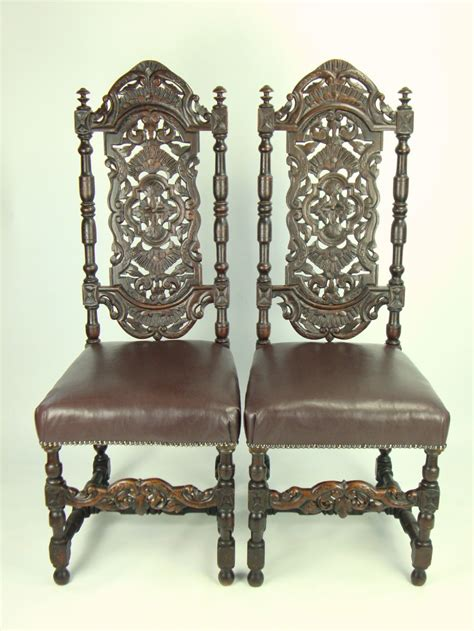 high back antique chairs antique furniture