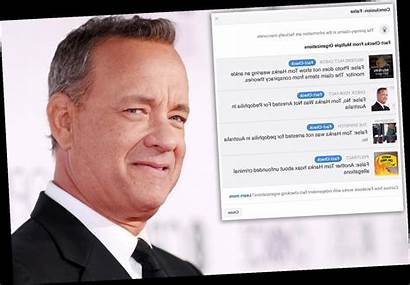 Hanks Tom Arrested Australia Theory Conspiracy Being