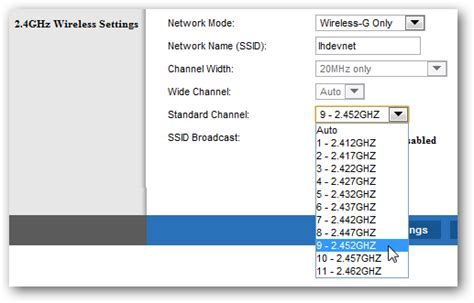 change your wi fi router channel to optimize your wireless