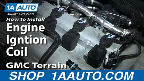 replace ignition coil   gmc terrain youtube