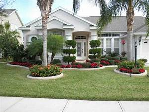 Simple Front Yard Landscape Design Palm Tree Home Interior Exterior Simple Landscaping Ideas For Front Yard