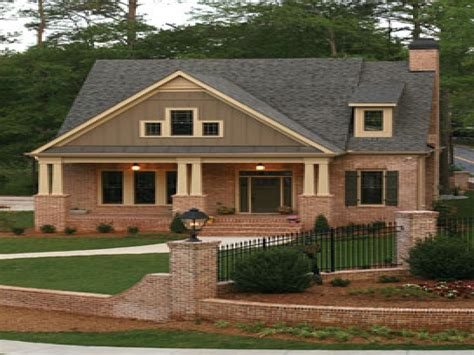 Brick Craftsman Style House Plans Craftsman Style Kitchen