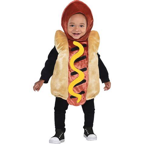 couple hot dog costume baby mini hot dog costume party city