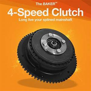 4-speed Clutch For Splined Mainshaft
