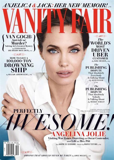 Angelina Jolie - Vanity Fair Magazine December 2014 Issue ...
