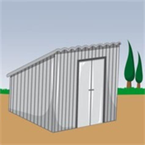 fabriquer un abri de jardin en t 244 le 224 toit monopente abri de jardin